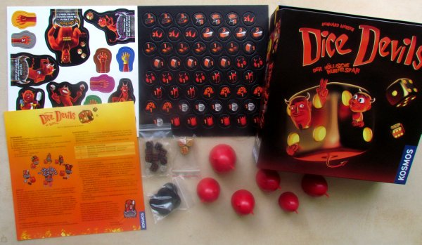Dice Devils - balení