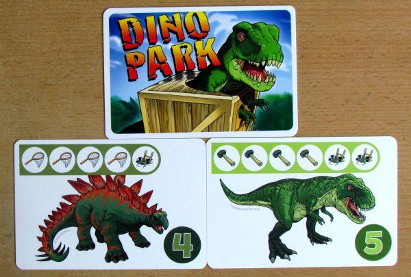Dino Park - karty
