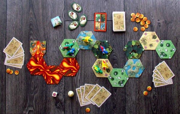 Dino Race - rozehraná hra