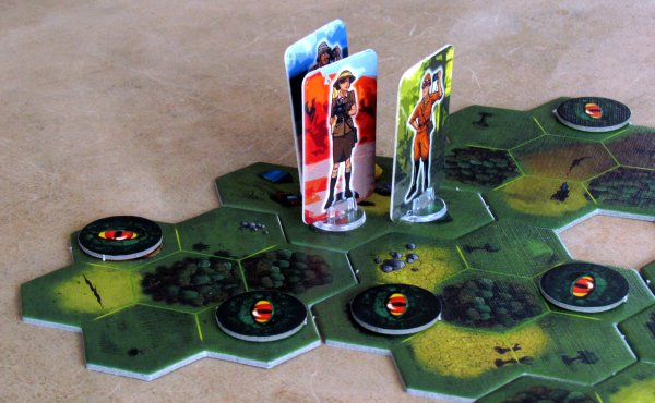 Dino Safari - připravená hra