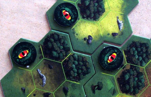Dino Safari - rozehraná hra