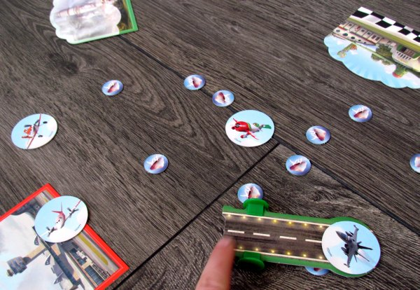 Disney Planes Air Championship - rozehraná hra