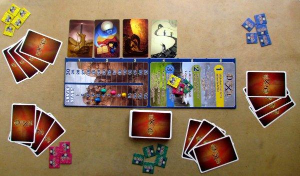 Dixit Journey - rozehraná hra