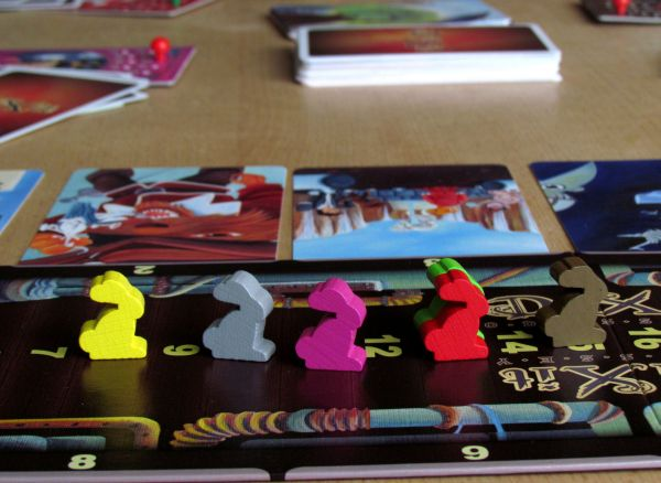 Dixit Odyssey - game in progress