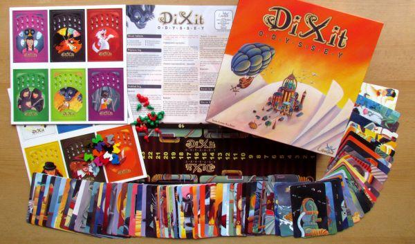 Dixit Odyssey - balení