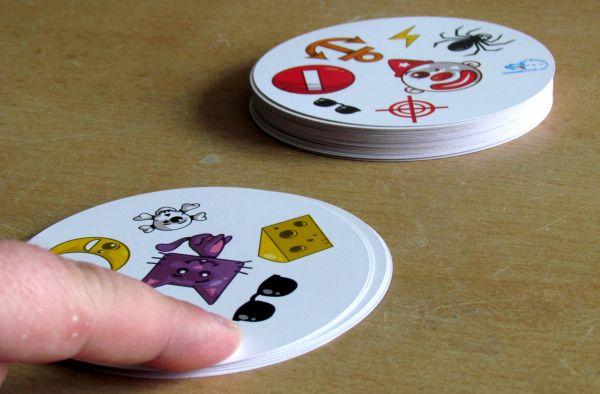 Dobble - rozehraná hra