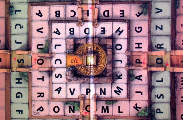 Dobrodružné hry - detail herního plánu