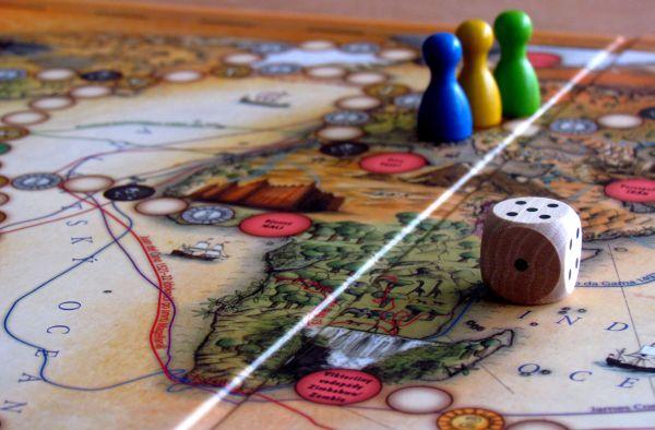 Cestovatelské hry - připravená hra