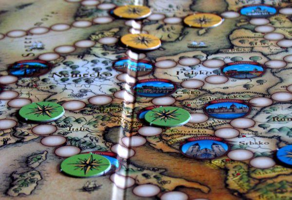 Cestovatelské hry - rozehraná hra