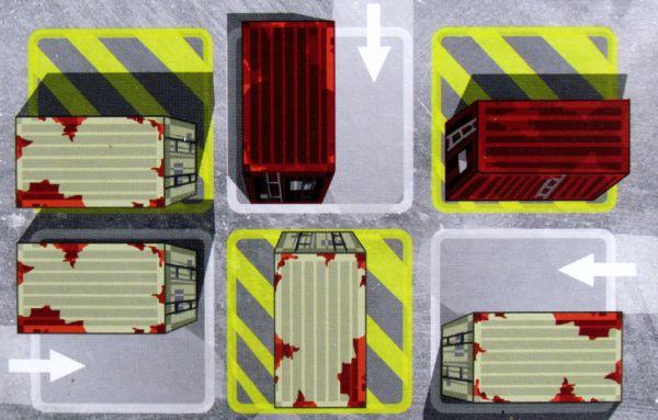Docker - herní plán
