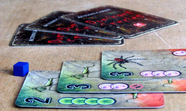 Dominant Species: Card Game - game in progress