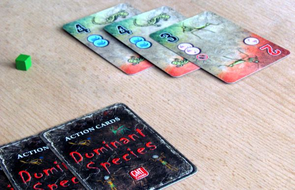 Dominant Species: Card Game - rozehran hra