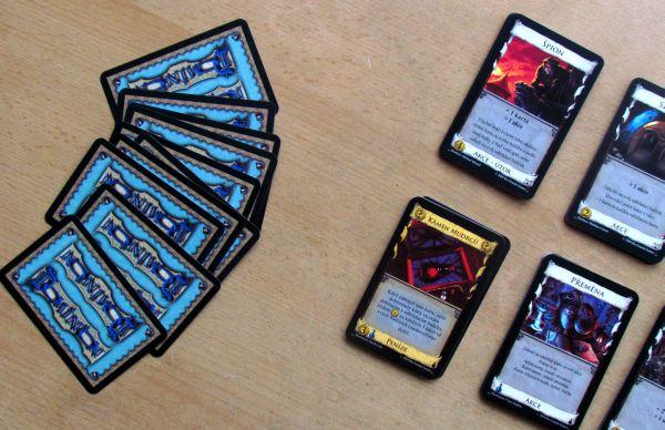 Dominion: Alchymie - připravená hra