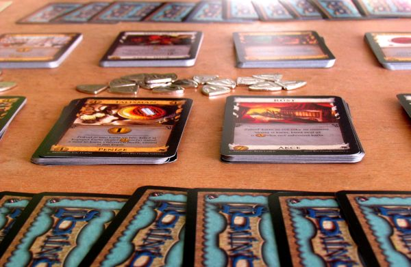 Dominion: Prosperita - připravená hra