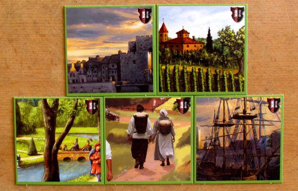 Dominion: Prosperita - desky hráčů