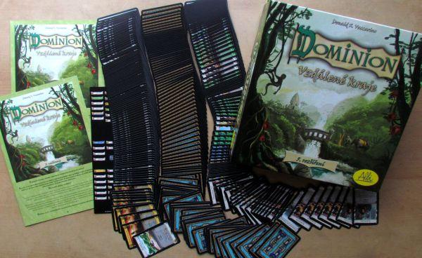 Dominion: Vzdálené kraje - balení