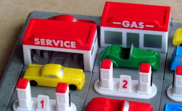 Došel benzín - průběh řešení