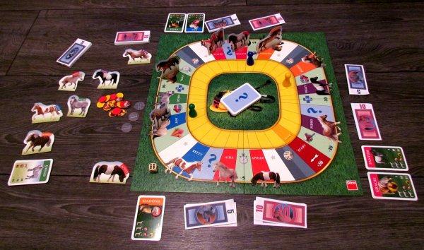 Dostihy a sázky Junior - rozehraná hra
