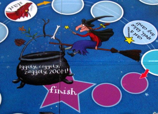 Dragon Chase Board Game - detail herního plánu