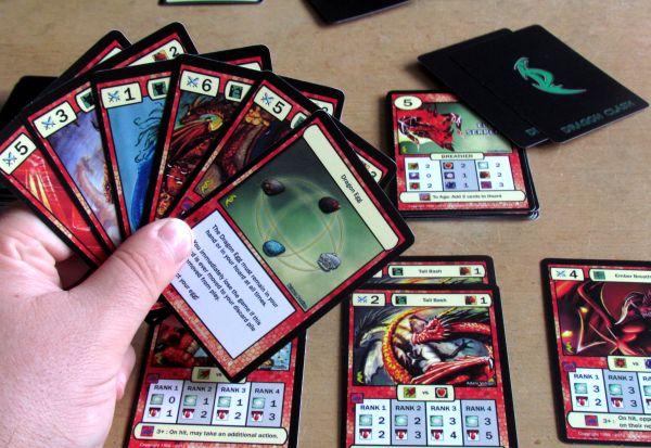 Dragon Clash - game in progress