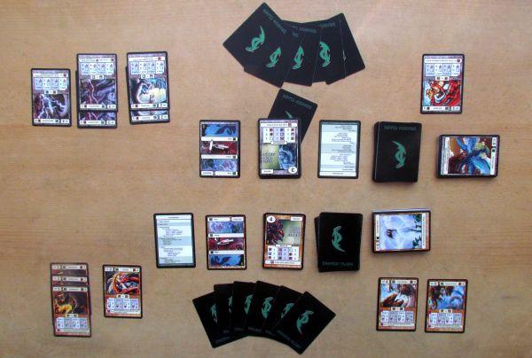 Dragon Clash: Mauler vs Channeler - rozehraná hra