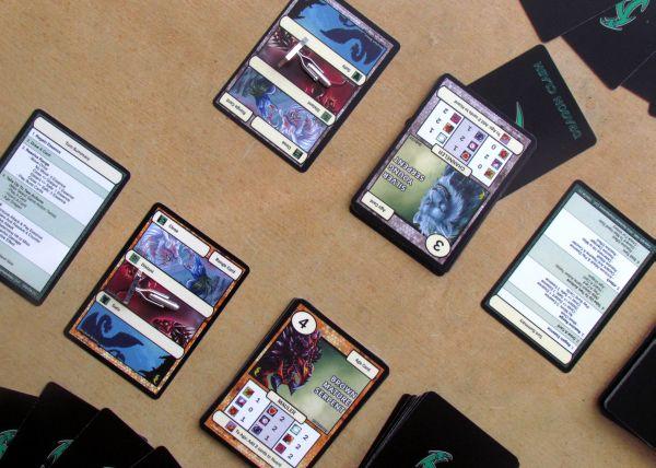 Dragon Clash: Mauler vs Channeler - game in progress