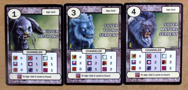 Dragon Clash: Mauler vs Channeler - cards