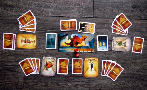Dragon Run - rozehraná hra