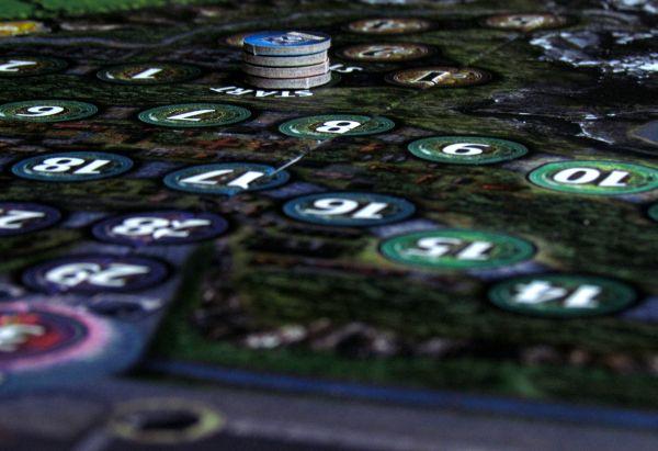 Dragon Valley - připravená hra