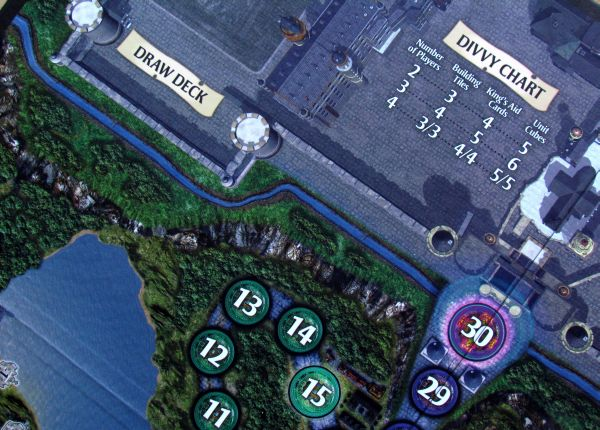 Dragon Valley - detail herního plánu