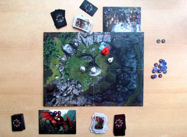 Drako - rozehraná hra