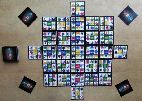 DuCo - game in progress
