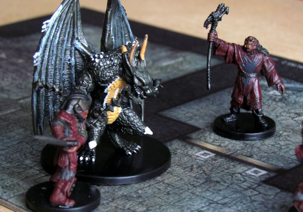 Photo: Dungeon Command: Tyranny of Goblins - game in progress