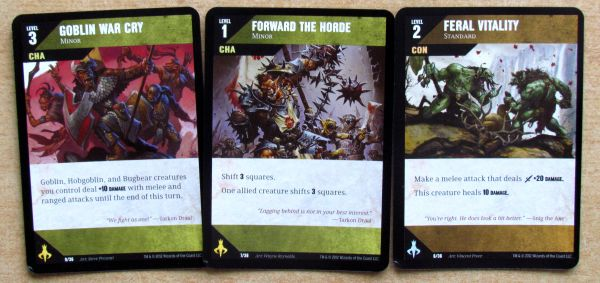 Photo: Dungeon Command: Tyranny of Goblins - cards
