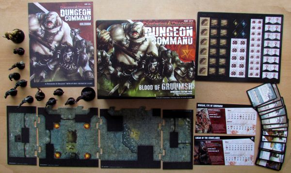 Dungeon Command: Blood of Gruumsh - packaging