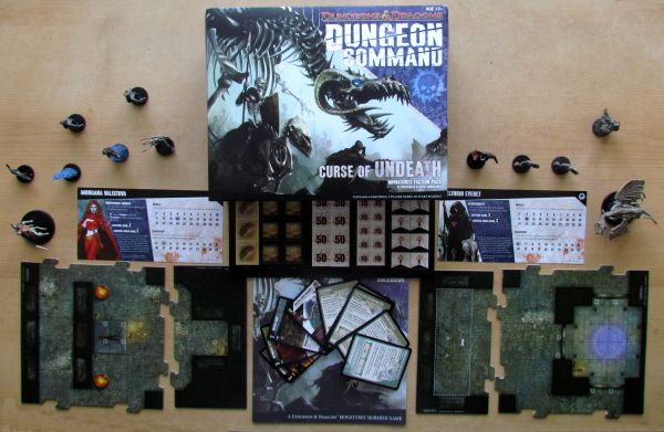 Dungeon Command: Curse of the Undeath - balení