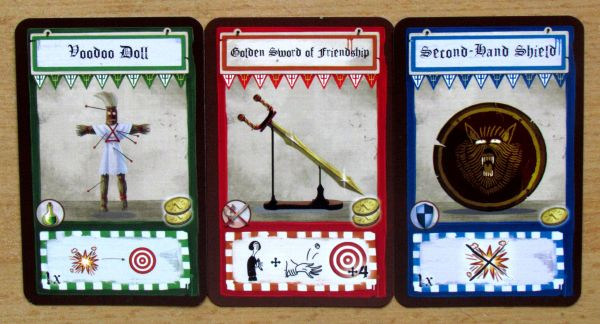 Dungeon Fighter - cards