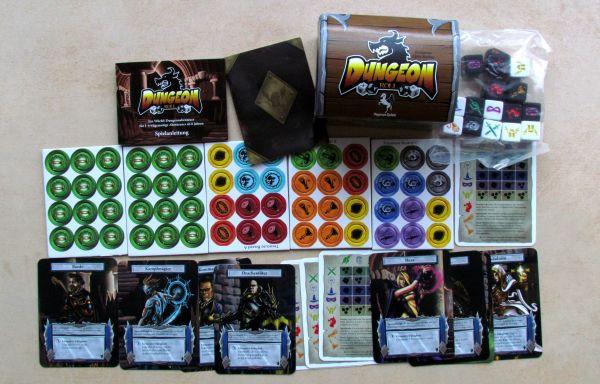 Dungeon Roll - balení