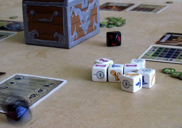 Dungeon Roll - rozehraná hra
