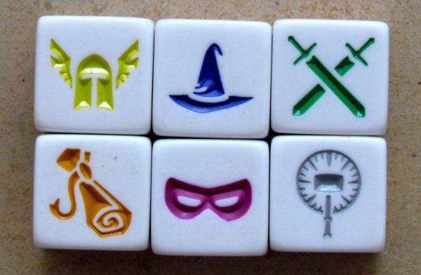 Dungeon Roll - kostky