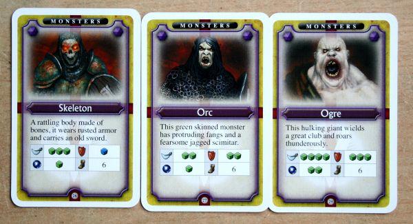 Dungeon Venture - karty