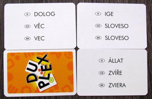 Duplex - karty