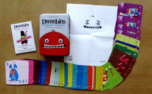 Dweebies - packaging