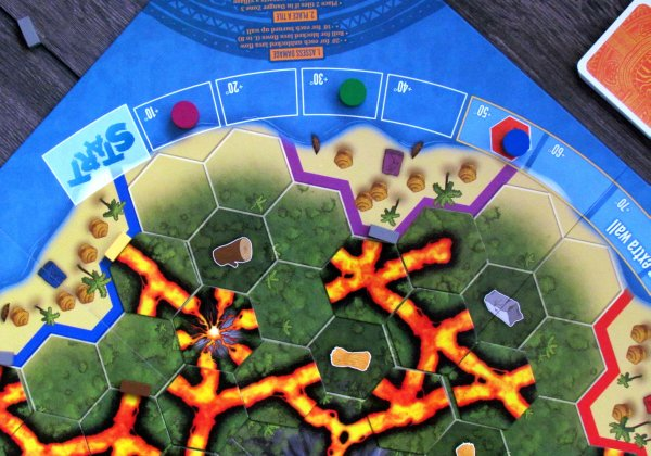 Eruption - rozehraná hra