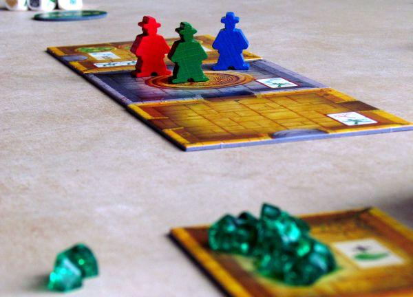 Escape: Chrámová kletba - připravená hra