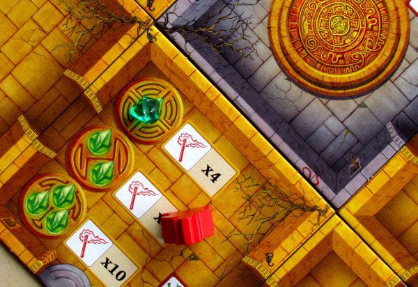 Escape: Chrámová kletba - rozehraná hra