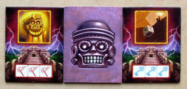 Escape: Chrámová kletba - kartičky