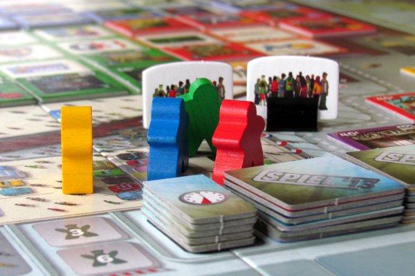 ESSEN The Game: Spiel 13 - připravená hra