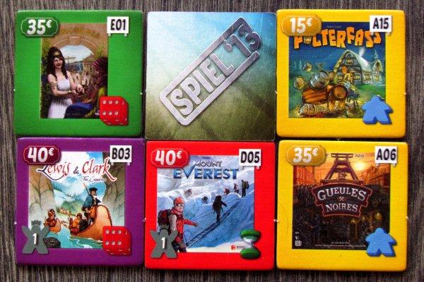 ESSEN The Game: Spiel 13 - dílky