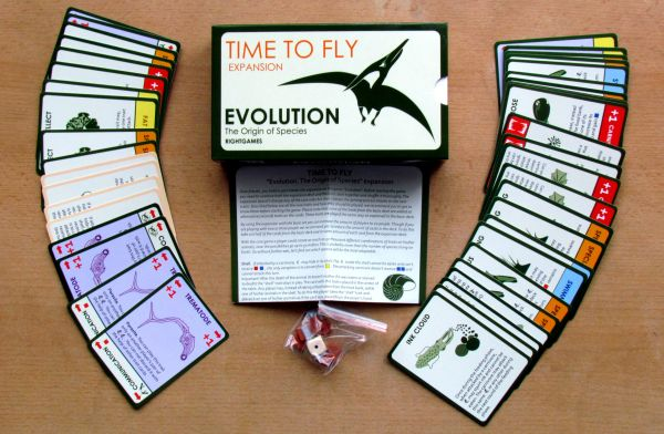 Evolution Origin of Species: Time to Fly - balení